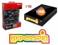 1TB Hyperspin Hard Disk EXTERNAL with Microsoft Xbox 360 Wireless Controller & Receiver